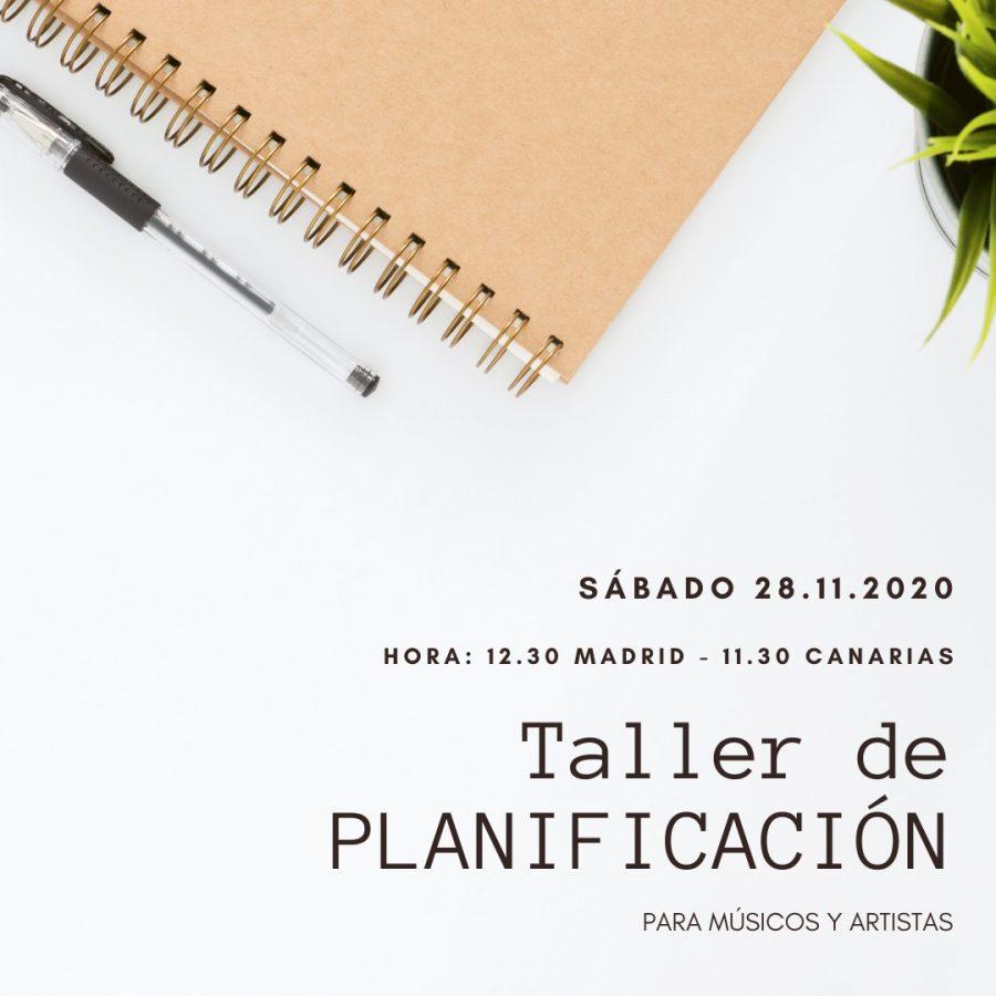 Taller de planificación 28 noviembre